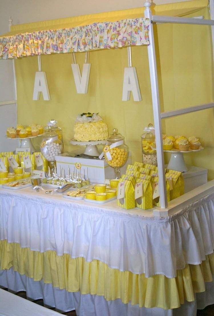 Tischdecke nhen  35 DIY Ideen mit Rschen fr Party