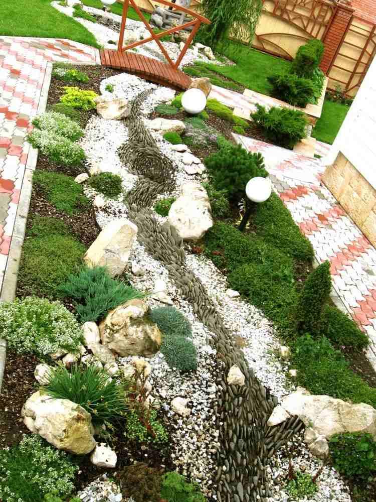vorgarten gestalten beispiele | möbelideen - Vorgarten Modern Pflegeleicht