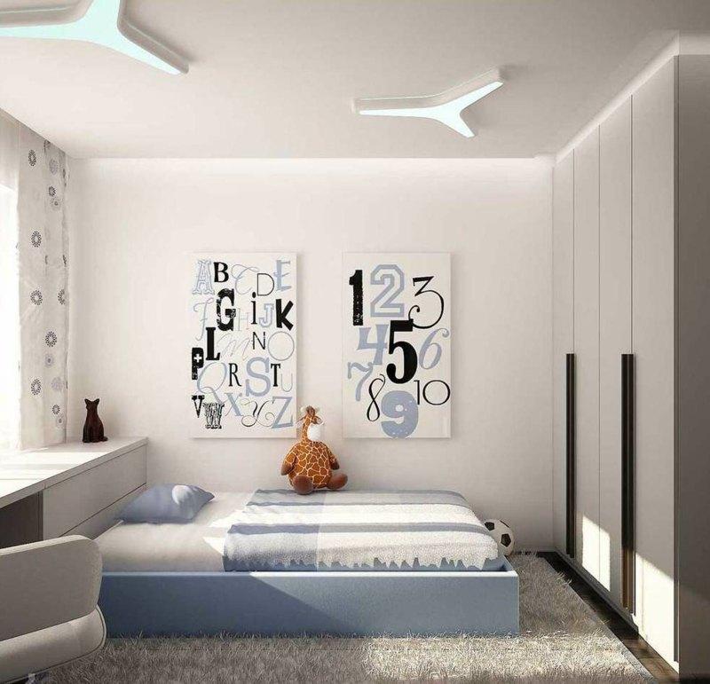 Wohnideen fr kleine Rume  25 Wohn  Schlafzimmer
