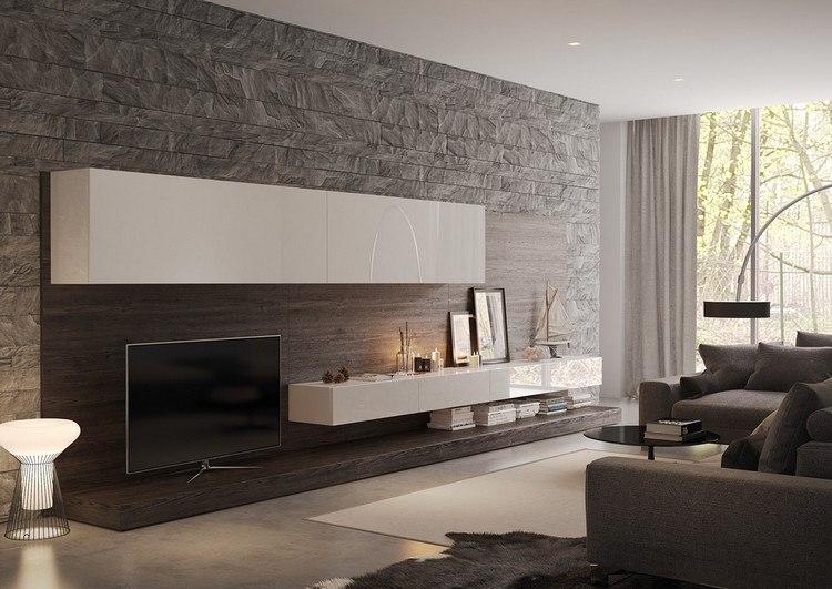 wohnzimmer modern wohnzimmer modern beige inspirierende bilder ... - Wohnzimmer Steintapete