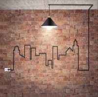 Backstein Tapete - Wandgestaltung mit realistischem Effekt