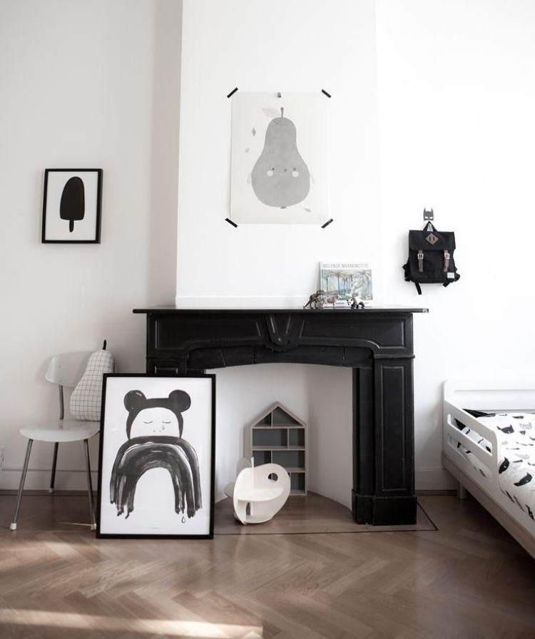 wohnideen minimalistische kinderzimmer. Black Bedroom Furniture Sets. Home Design Ideas