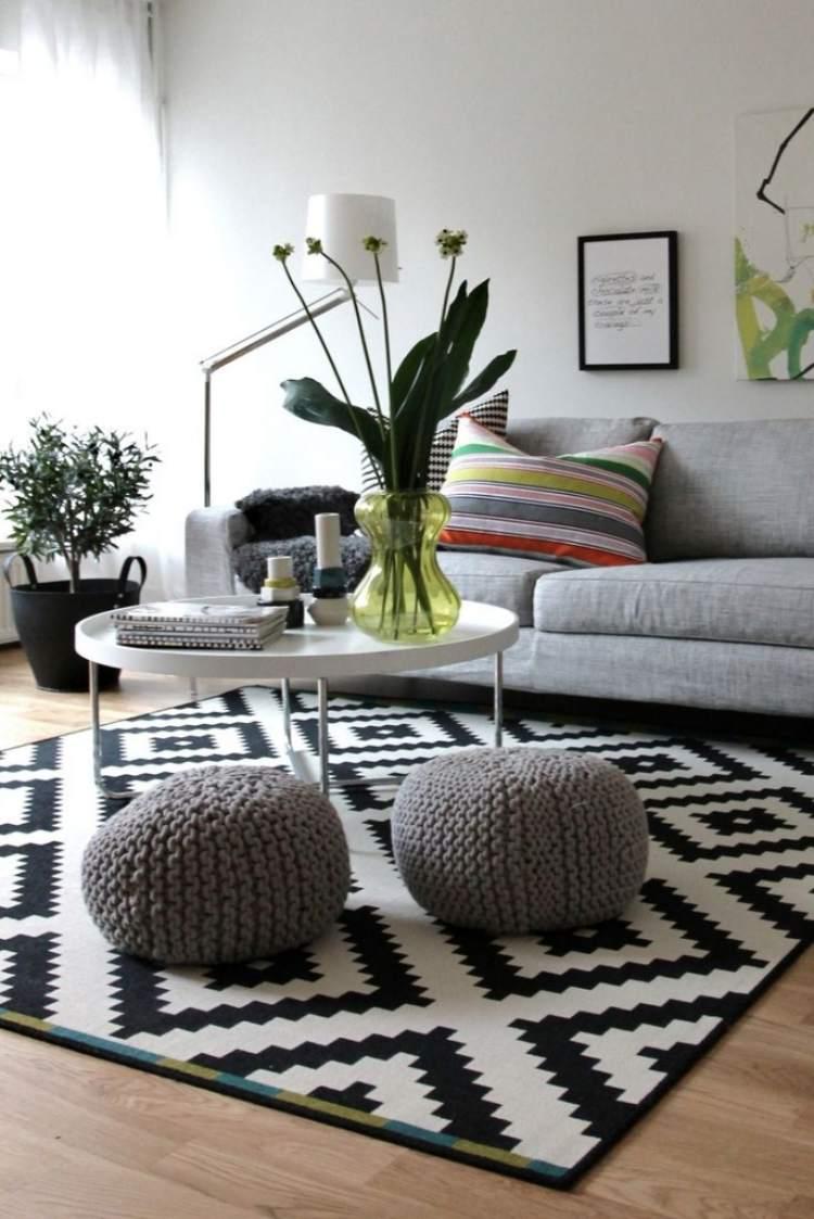 deko wohnzimmer skandinavisch | möbelideen, Mobel ideea