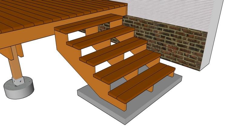 Gartentreppe holz selber bauen anleitung m belideen - Gartentreppe holz ...