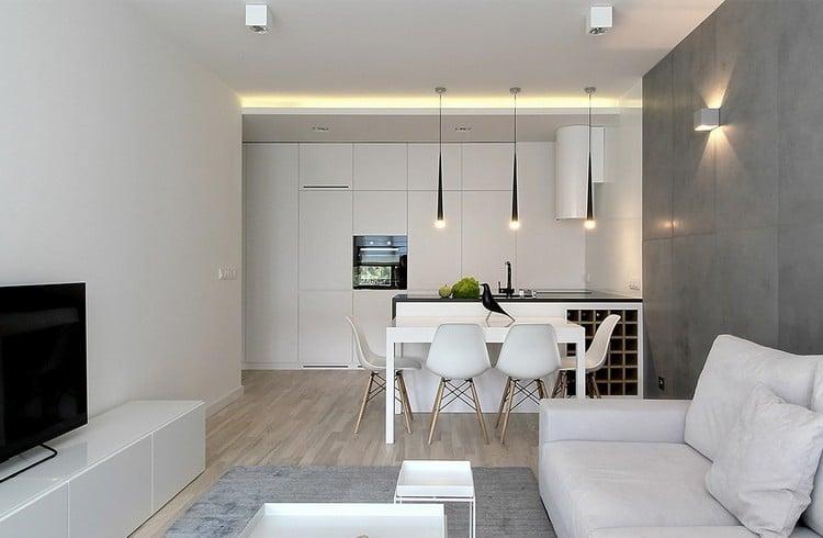 kleiner fernseher f r die k che kommode weiss haus ideen. Black Bedroom Furniture Sets. Home Design Ideas