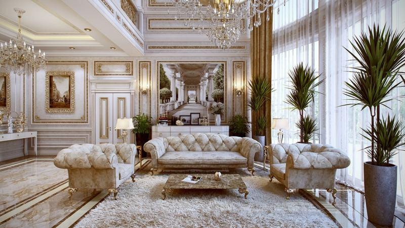 Franzosische Luxus Einrichtung Barock Design Franzosische Luxus