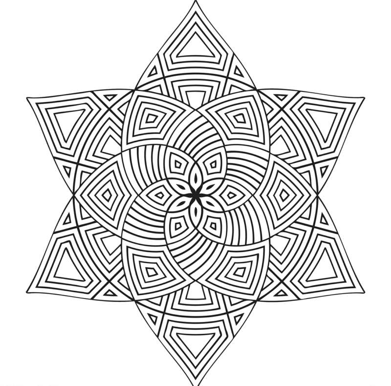 40 hübsche Mandala Vorlagen zum Ausdrucken und Ausmalen