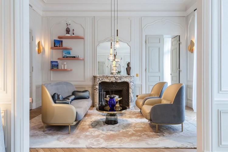 Pariser Stil helle Farben und ein Hauch von Luxus