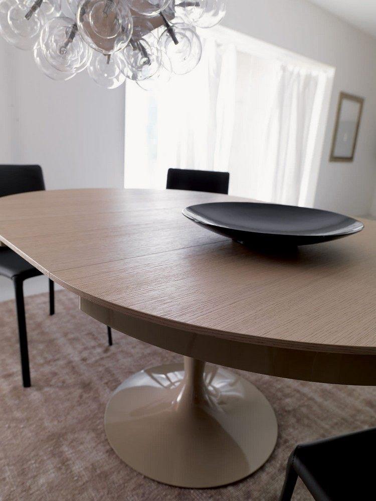 Runde Esstische als DesignHighlight Modern und ausziehbar