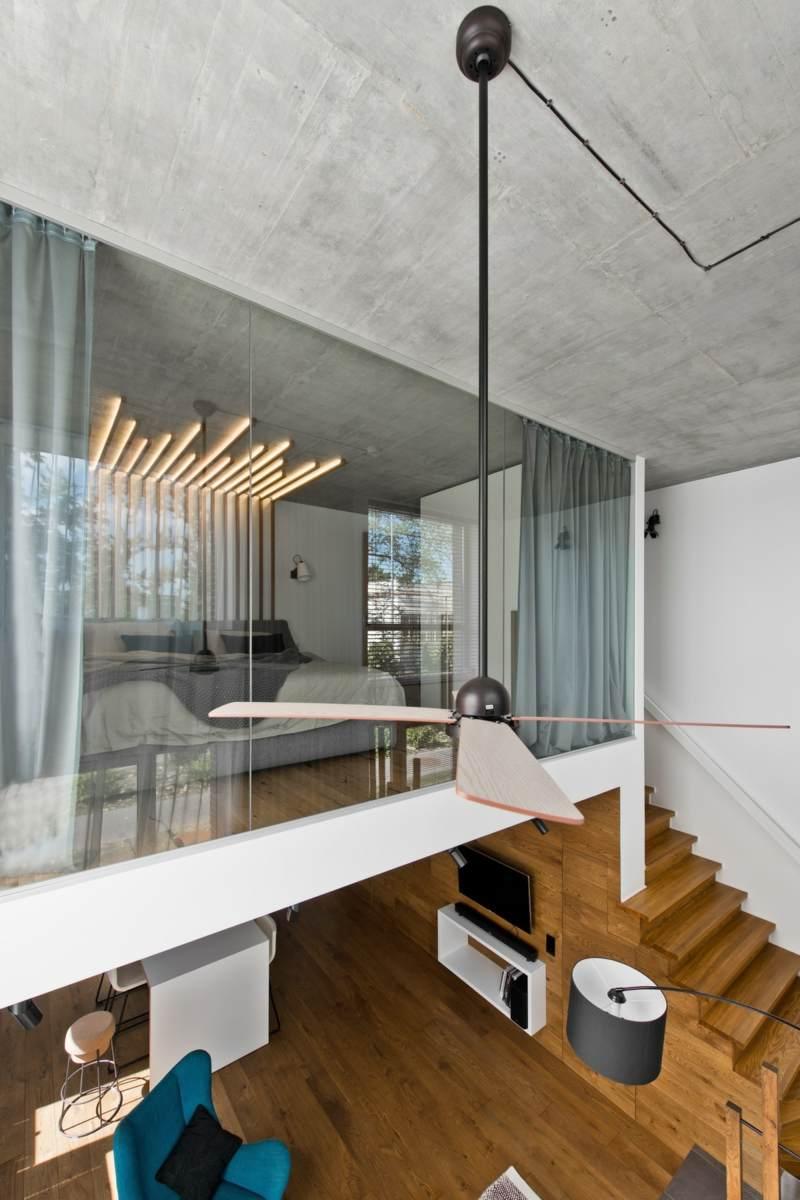 Skandinavischer Stil In Grau Für Moderne Loft Einrichtung