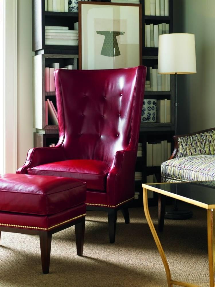 bergere chairs clear acrylic dining ohrensessel mit hocker für vintage ambiente zuhause