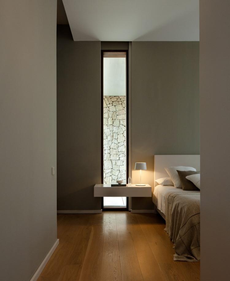 Schlafzimmer Beleuchtung im minimalistischen Stil