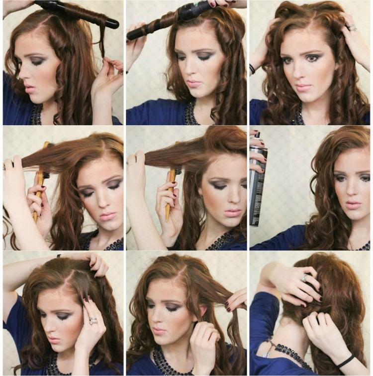 Silvester Frisuren Selber Machen 7 Einfache Anleitungen