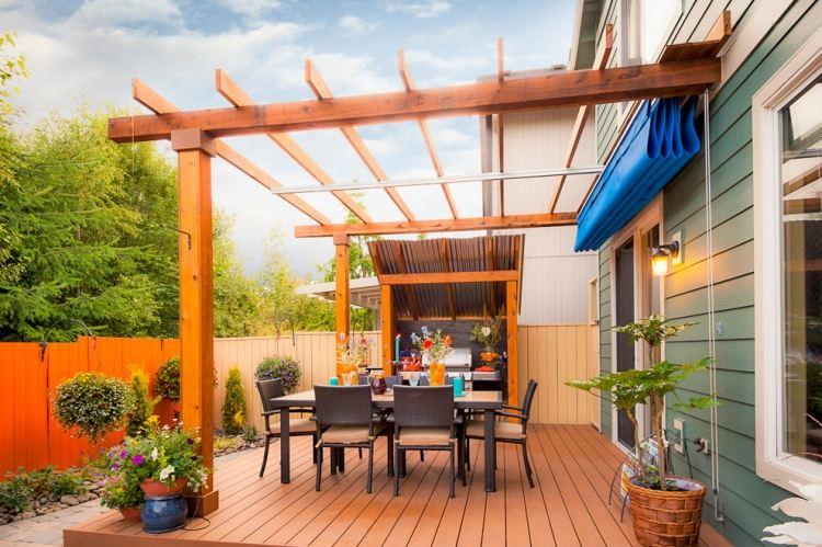 Die Moderne Terrassenüberdachung Wertet Den Garten Auf