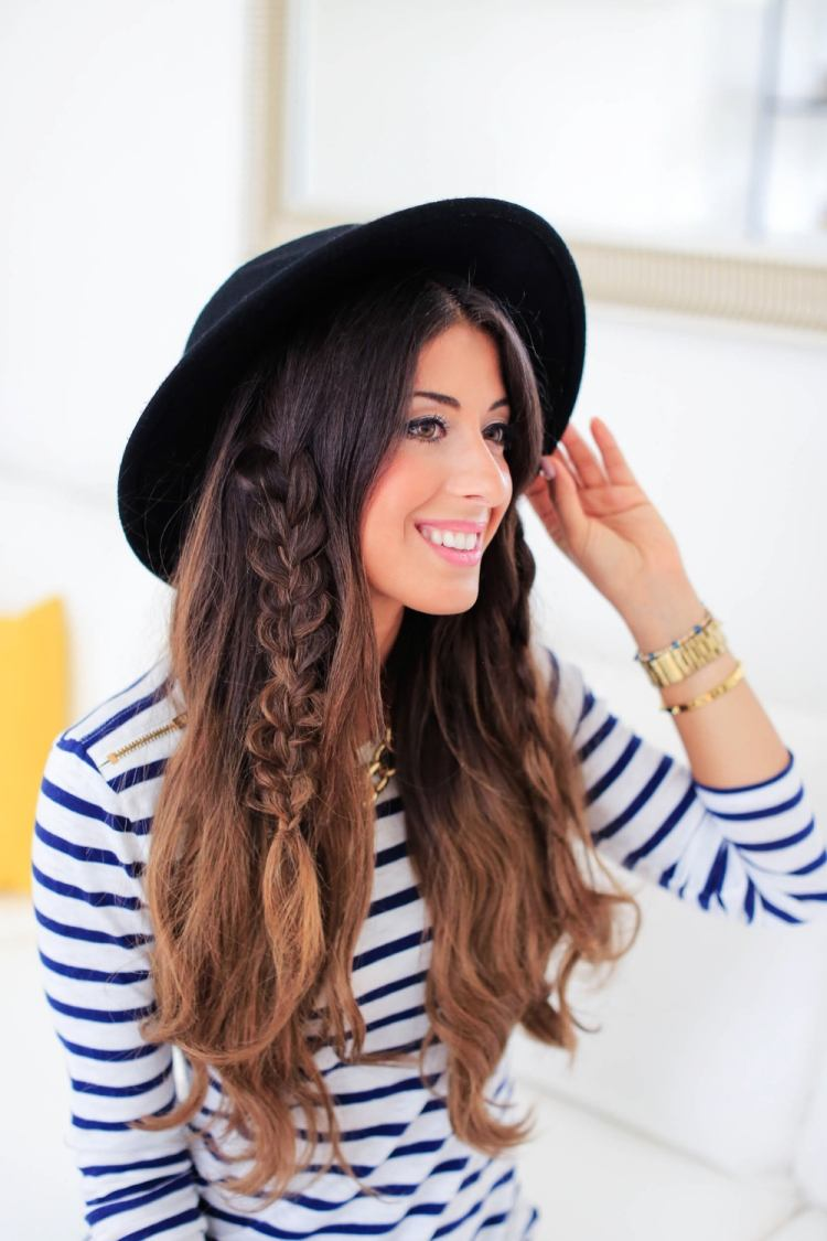 Moderne Damenfrisuren Für Mütze Oder Hut 20 Tipps In Bildern