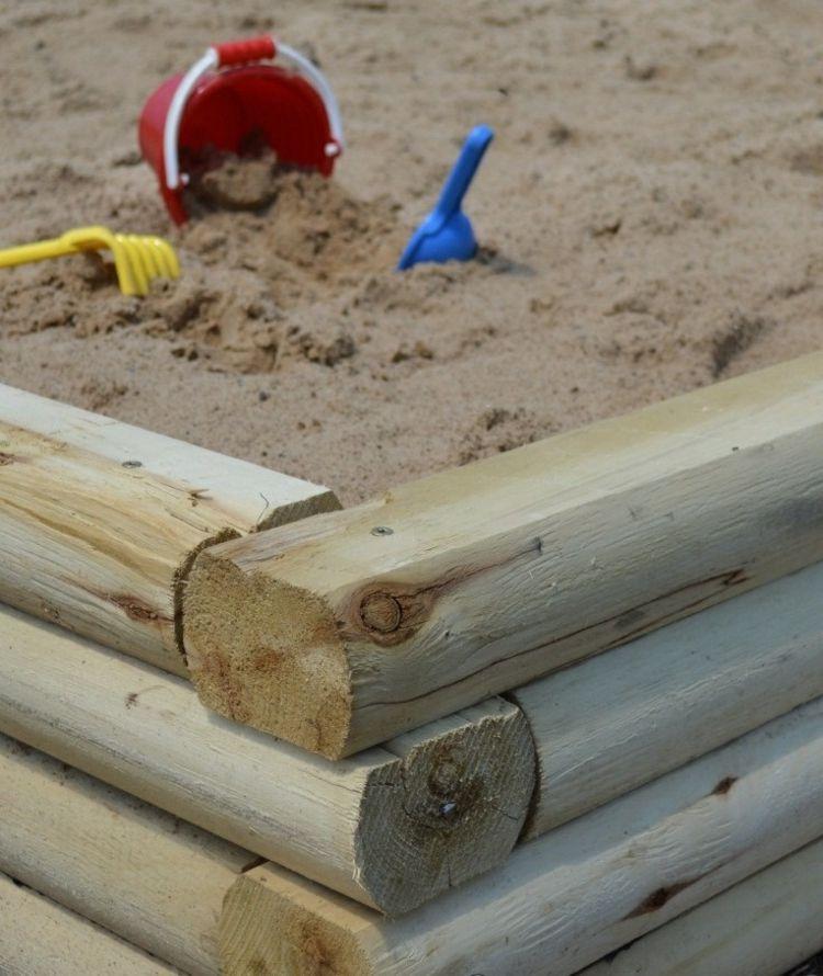 anleitung zum sandkasten selber bauen » terrassenholz, Hause und garten