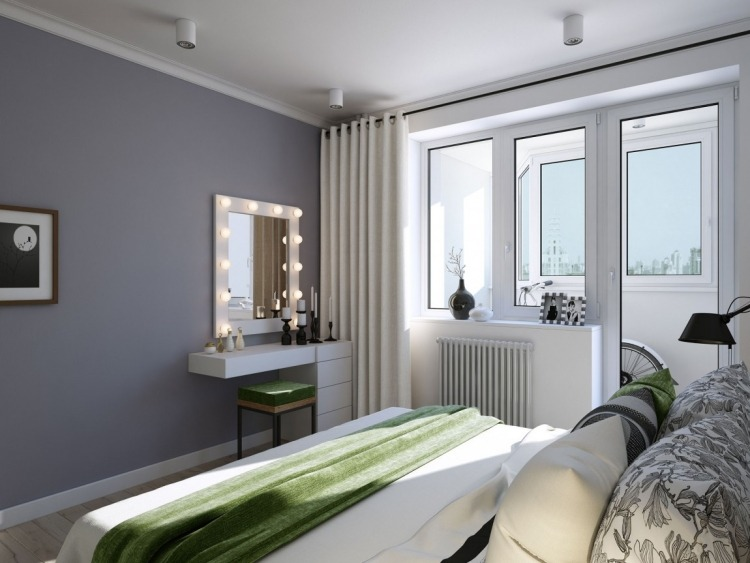 Wandfarbe Grau als Gestaltungselement in jedem Bereich