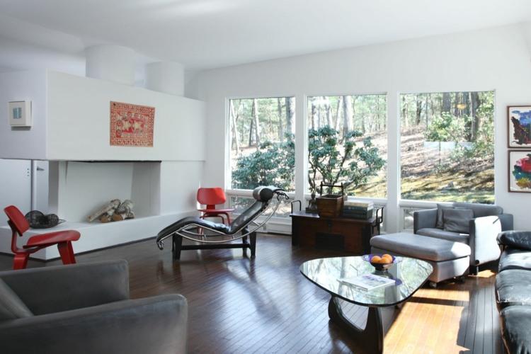 Wohnen im Bauhausstil  Gestaltung von Fassade  Interieur