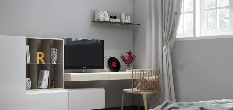 wei e mobel sind modern gestaltet wohnzimmer - boisholz, Wohnzimmer dekoo