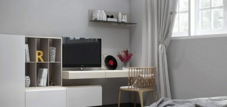 Schreibtisch Im Wohnzimmer 2021