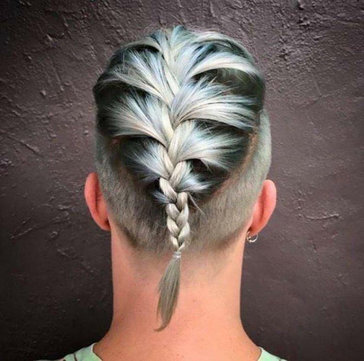 Flechtfrisuren Für Männer Männerzopf Im Trend Für 2016 Frisur Ideen
