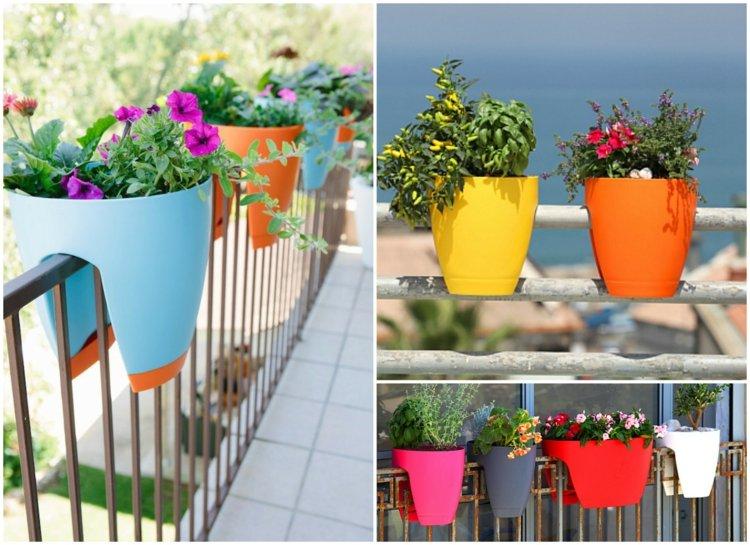 Balkon Ideen Blumenkasten Gelander | Möbelideen