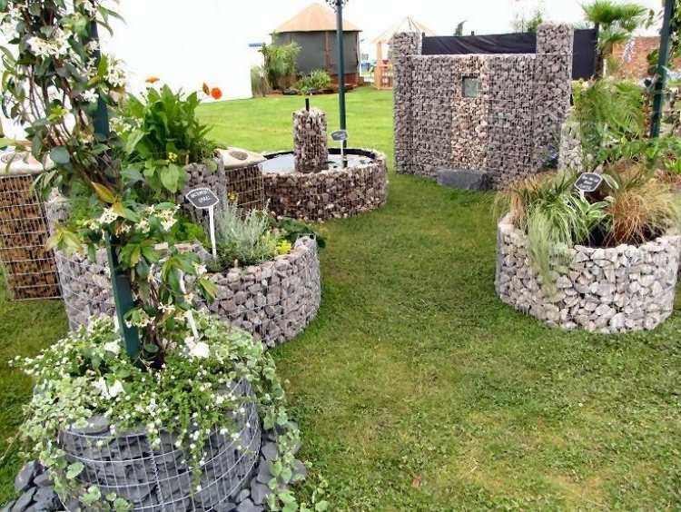 hochbeet rund selber bauen - boisholz, Gartengerate ideen