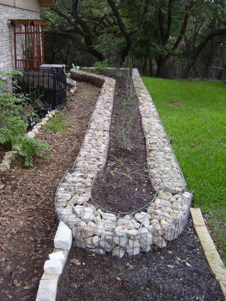 gabionen hochbeet rund selber bauen – siteminsk, Gartengerate ideen
