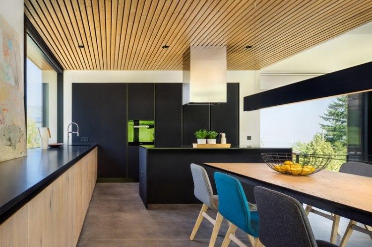 Minimalistisch Innen Und Kuchengestaltung Moderne Kuche Interieur