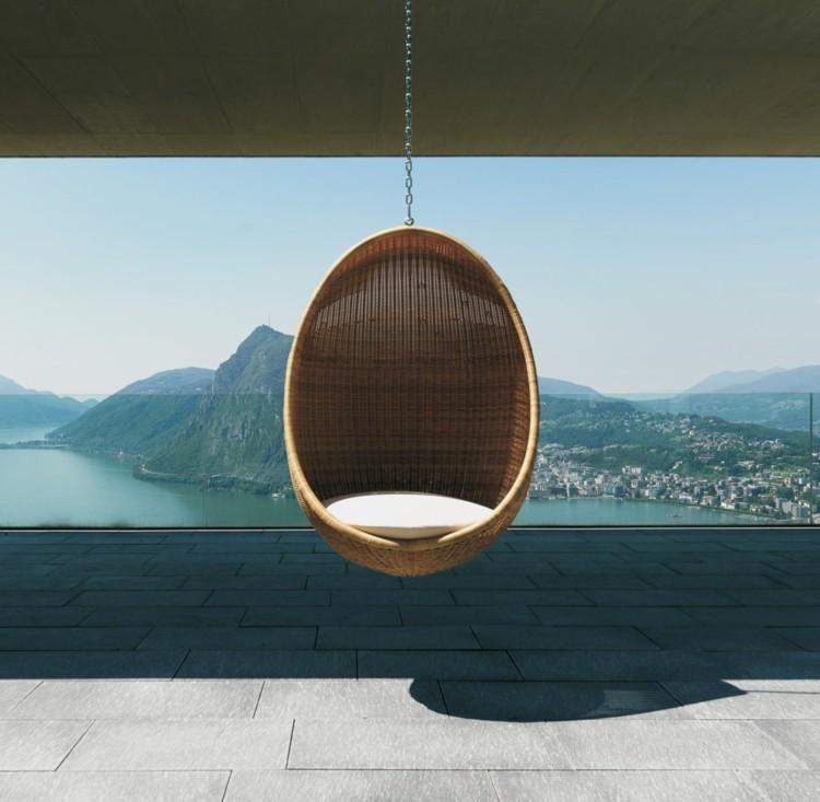 rattan egg chair restoration hardware beanbag 20 hängesessel für draußen und drinnen - platz zum relaxen