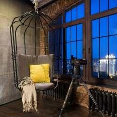 Swing Egg Chair Microfiber Tub Accent 20 Hängesessel Für Draußen Und Drinnen - Platz Zum Relaxen