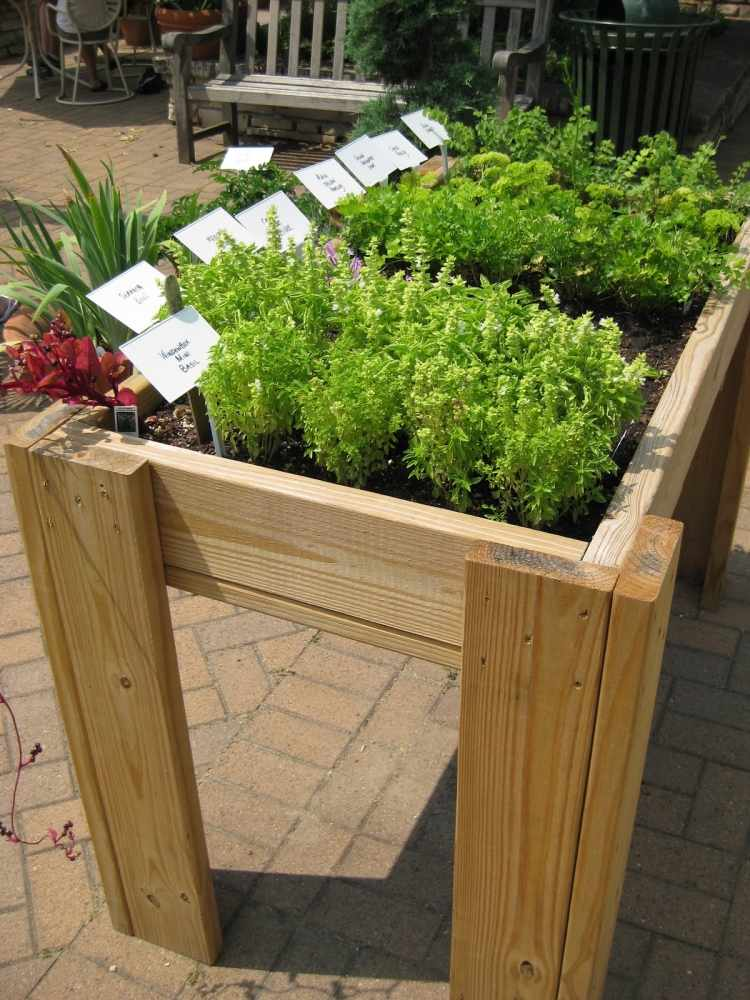 hochbeete selber bauen und bepflanzen. Black Bedroom Furniture Sets. Home Design Ideas