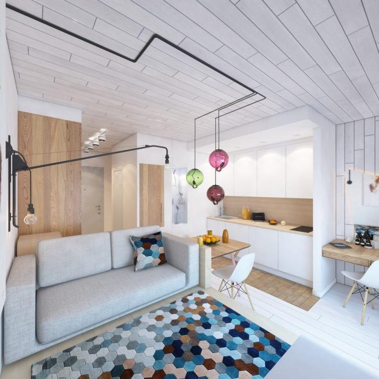 Kleine Wohnung einrichten - 6 clevere Wohnideen für 30 Qm