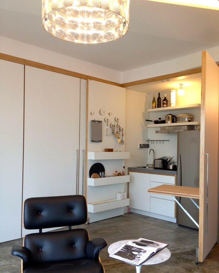 Kleine Wohnung Einrichten  22 Ideen, Die Platz Sparen