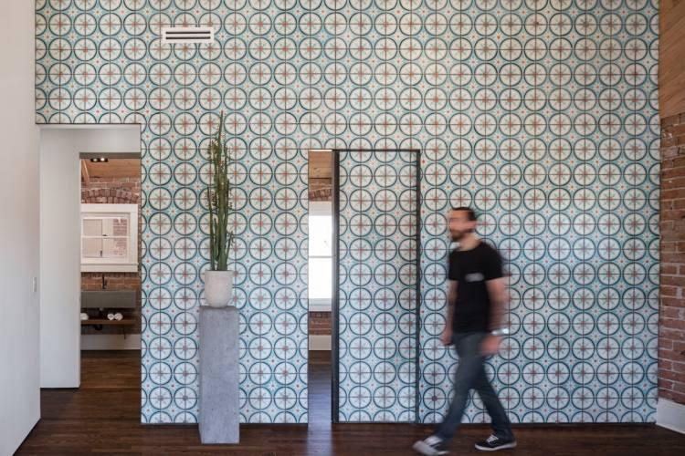 Moderne Fliesen im Flur fr Altbauwohnung  40 Ideen