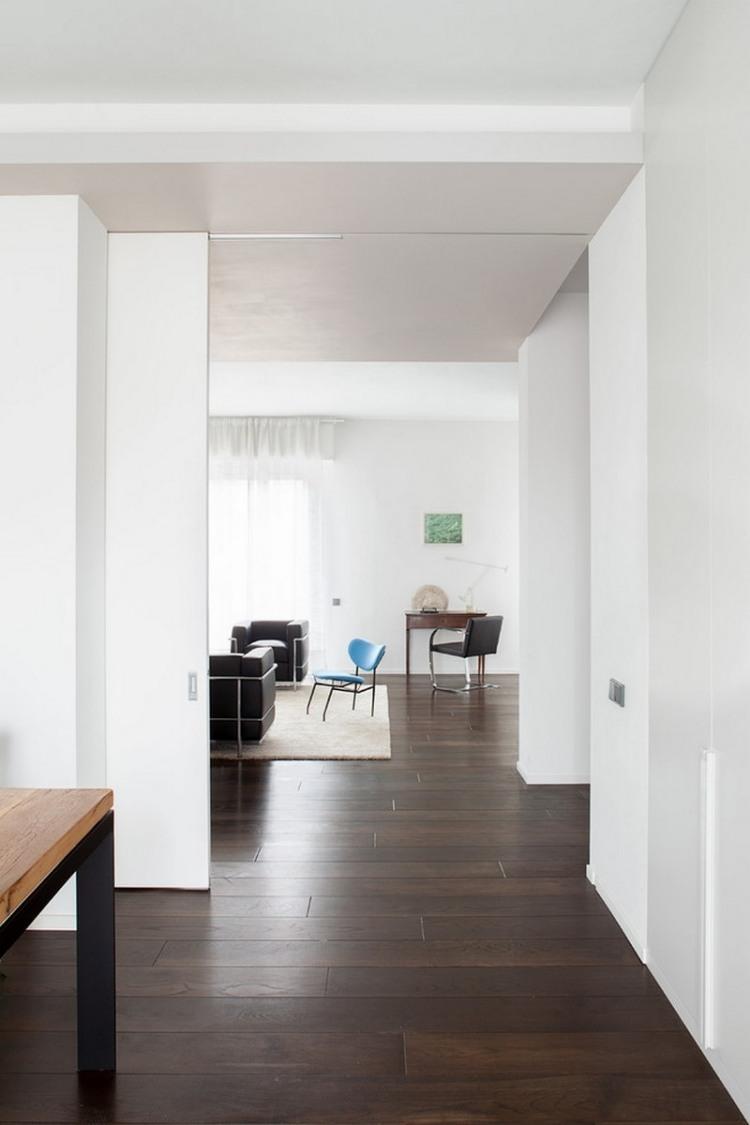 Schiebetr Kche Wohnzimmer Haus Deko Ideen