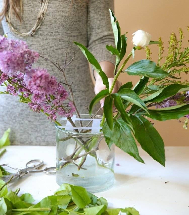Glasvasen dekorieren  21 Ideen fr mehr Frhling zu Hause