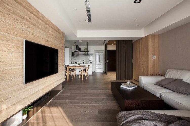 Moderne Offene Wohnzimmer