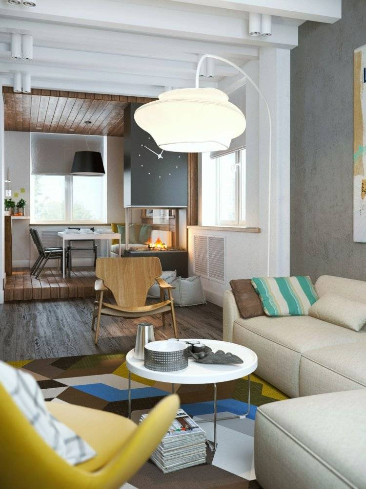 Beton Farbe fr moderne Wandgestaltung  5 Wohnideen