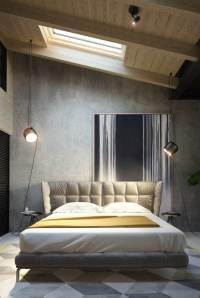 Beton Farbe fr moderne Wandgestaltung - 5 Wohnideen