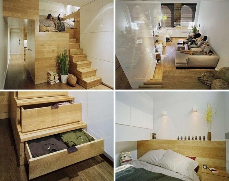 Schön Galerie Fur Hochbett Erwachsene Splatzsparend Kleine Wohnung