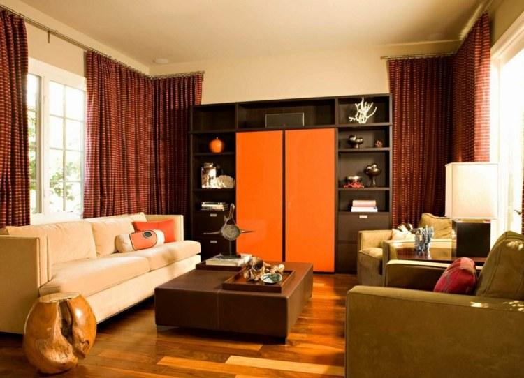 Wohnzimmer Rot Beige ~ Inspirierende Bilder Von Wohnzimmer Dekorieren Wohnzimmer Mit Rot