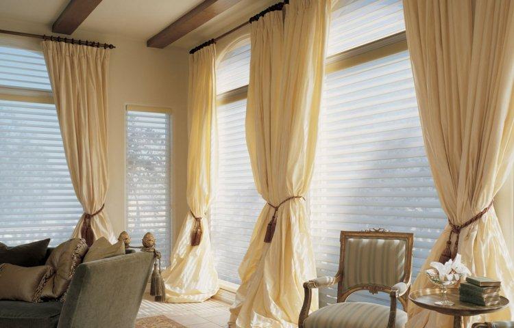 Wohnzimmer Gardinen Ideen Unterschiedliche Einrichtungsstile