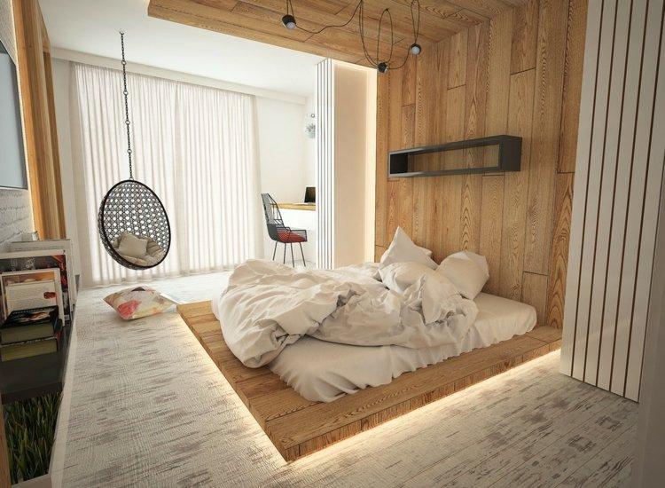 Passende Beleuchtung im Schlafzimmer whlen  20 Inspirationen