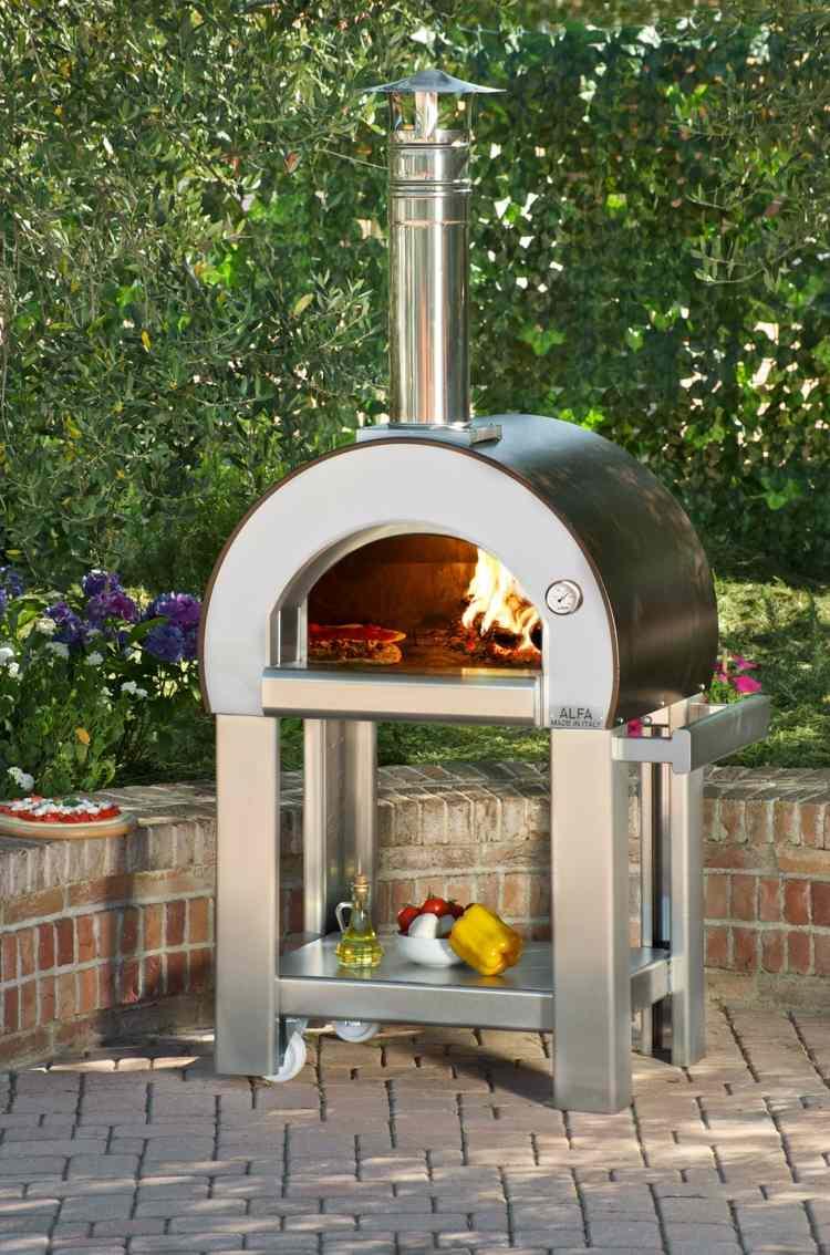 garten pizzaofen bauen tipps kueche – nomadx, Gartenbeit