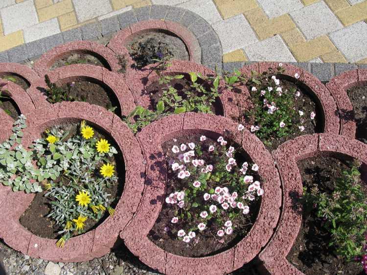 gartengestaltung pflanzsteine setzen wunderbare ideen - terrasseenbois, Hause und garten