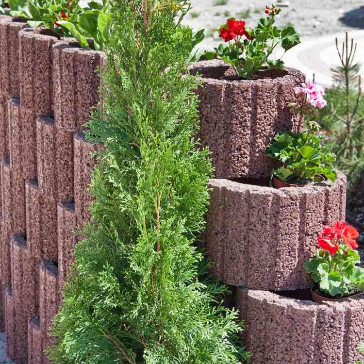 planter box planter box - terrasseenbois, Hause und garten