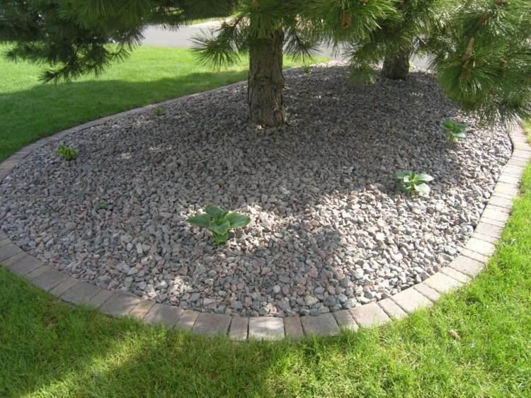 beet mit kies gestalten und steine im garten picture | moregs, Garten und erstellen