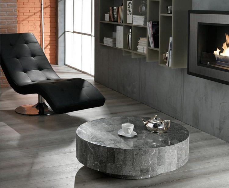 couchtische stein fossilstein modern design | möbelideen - Couchtische Stein Fossilstein Modern Design
