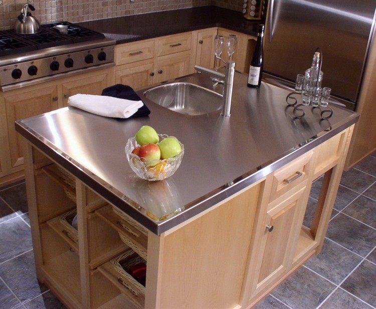 Outdoorküche Arbeitsplatte Reinigen : Edelstahl arbeitsplatte u home sweet home